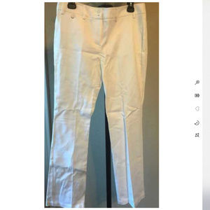 Jones NY White Pants